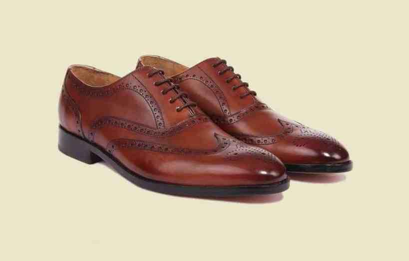 En sko från Store Moustache, en durksydd sko tillverkad i Indien.