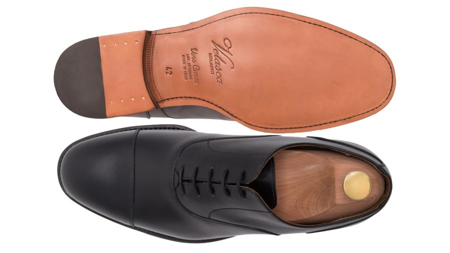 Sulorna på Velascas skor.
