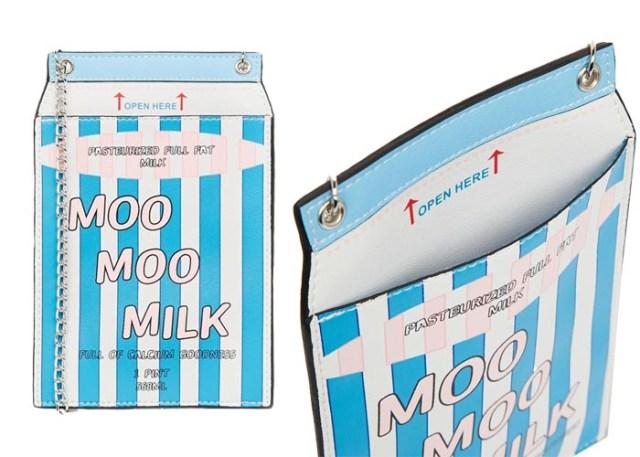 Copycat: Asos vs Chanel Lait de Coco tas. Alles over de tas van Asos geinspireerd op het Chanel ontwerp Lait de Coco uit de supermarkt chique collectie. Ontdek hier.
