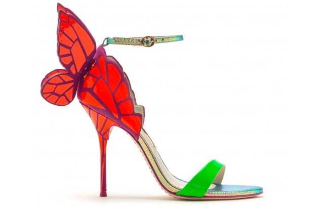 Gespot: Olcay Gulsen in Sophia Webster heels. Alles over Supertrash eigenaresse Olcay Gulsen in haar nieuwe schoenen van Sophia Webster.