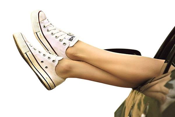 Afbeeldingsresultaat voor zonder sokken in schoenen