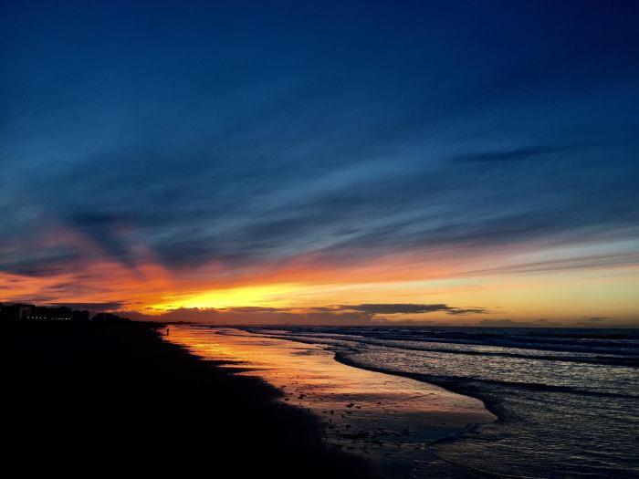 Beach sunset, Marina Kazakova