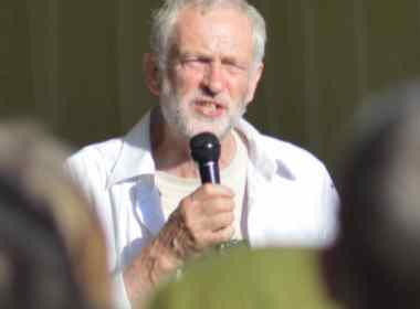 Jeremy Corbyn - credit Rwendland.