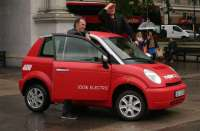 Think CITY electric car