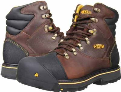 Keen Utility Men's Milwaukee 6-Inch Steel Toe Work Boot