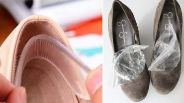 How to soften the back of new shoes