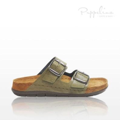 puppelina bio-sandal oliv