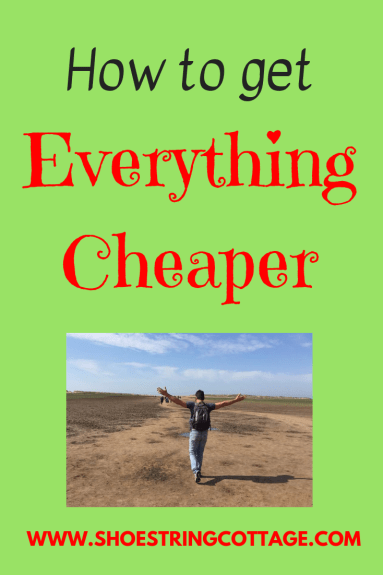 get everything cheaper