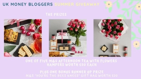 COMPETITION TIME: UK Money Bloggers Giveaway - Shoestring Cottage