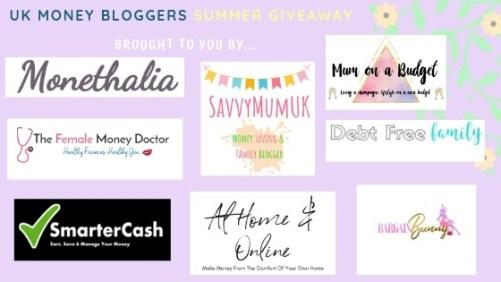 UK Money Bloggers giveaway
