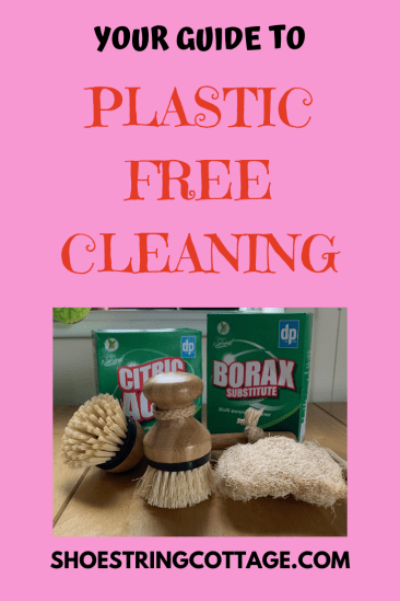 plastic free cleaning