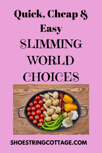 cheap and easy slimming world