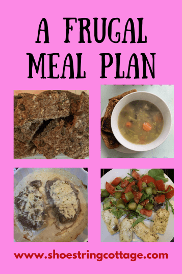 frugal meal plan