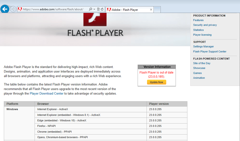 How To: Update Adobe Flash Player - Shoestring Networks