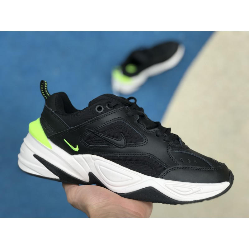 Nike Air Monarch 4 M2K Tekno Black Green Women Shoes