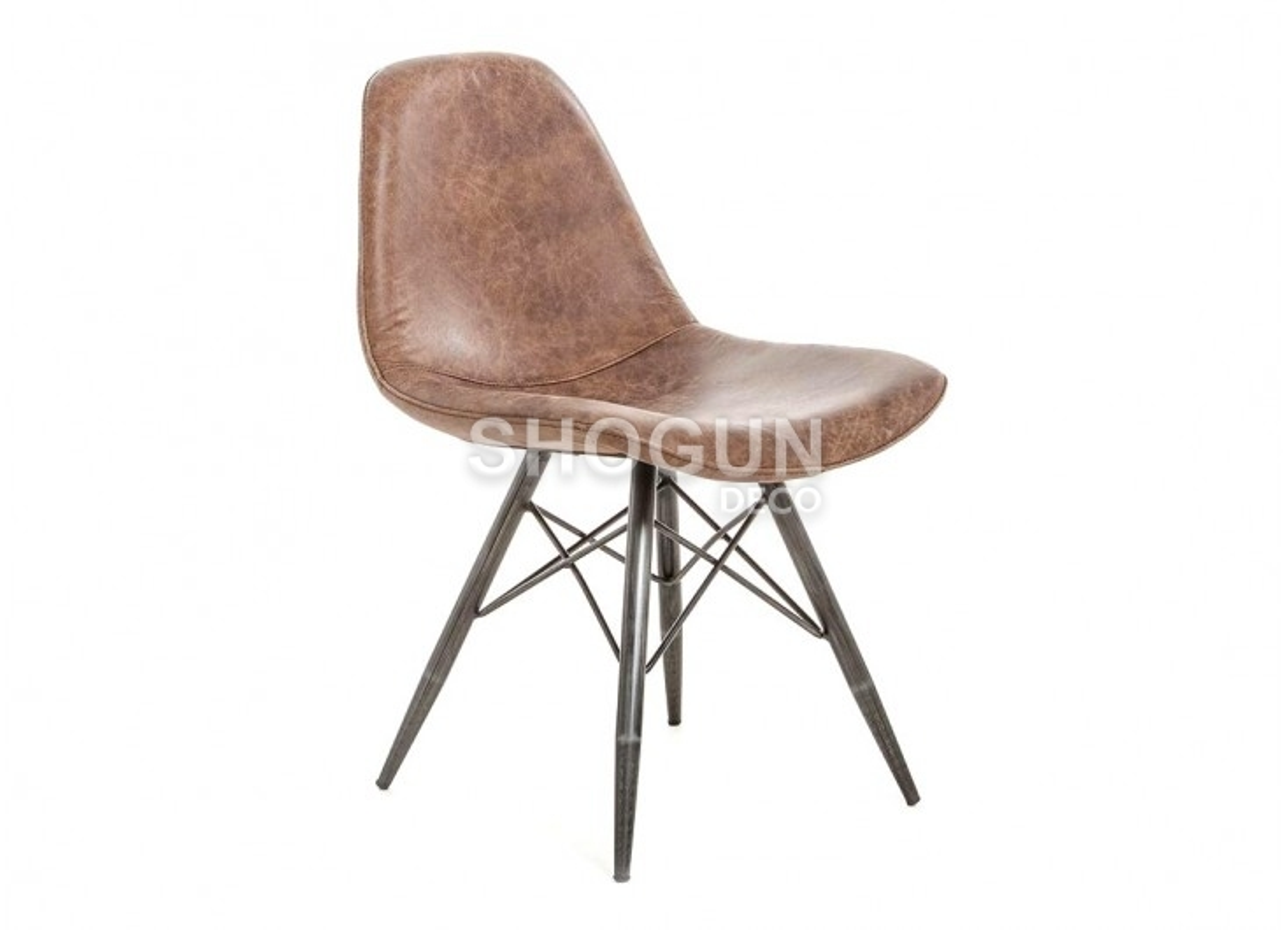 chaise jackson cuir marron