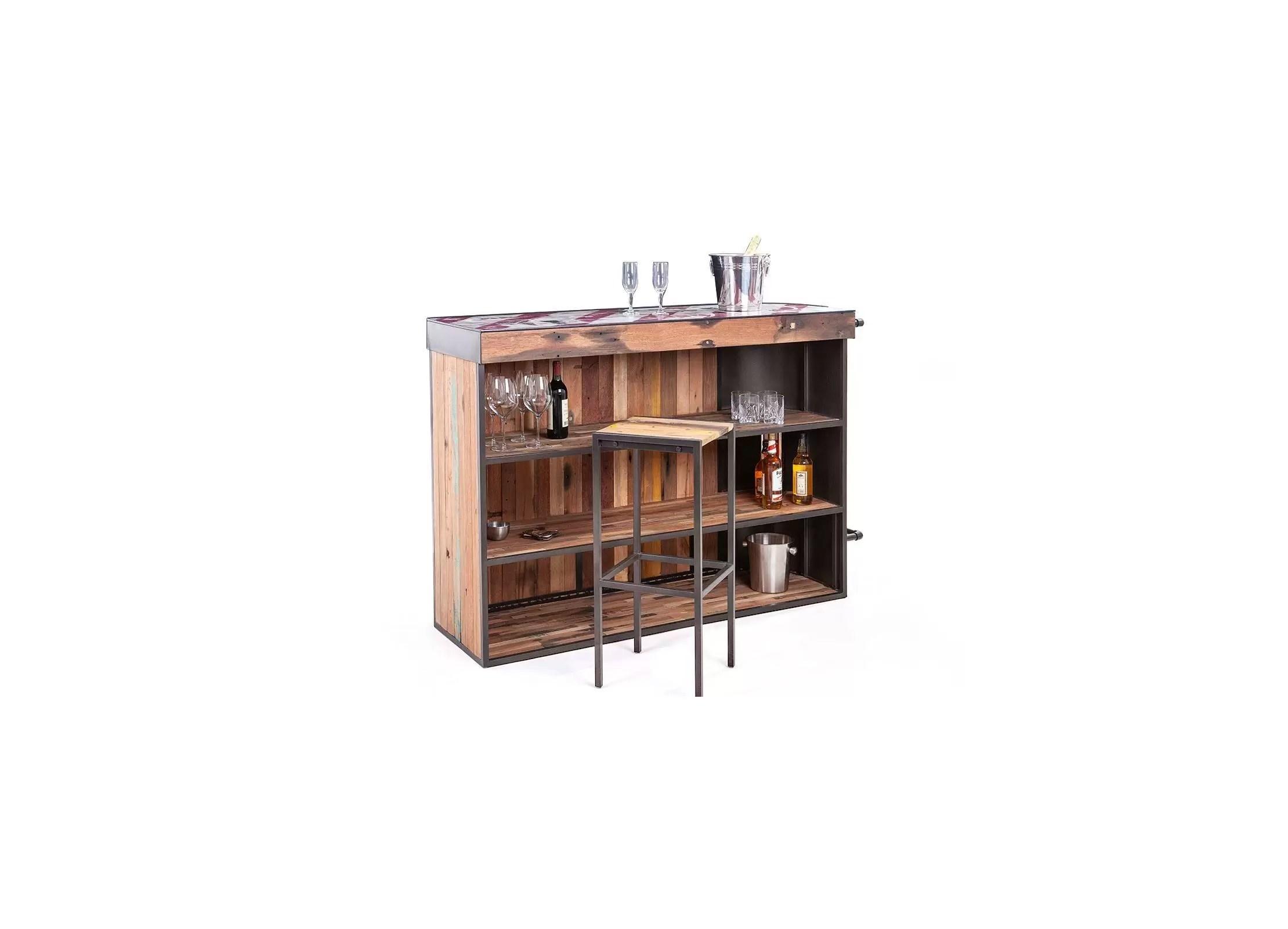 meuble bar symbiose avec angle a gauche