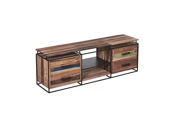 meuble tv nako 4 tiroirs