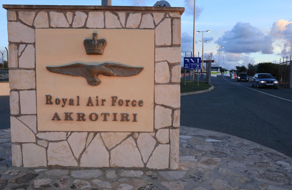 RAF AKROTIRI OIL TERMINAL