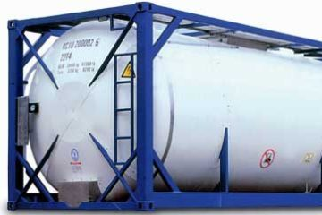 Tank containers