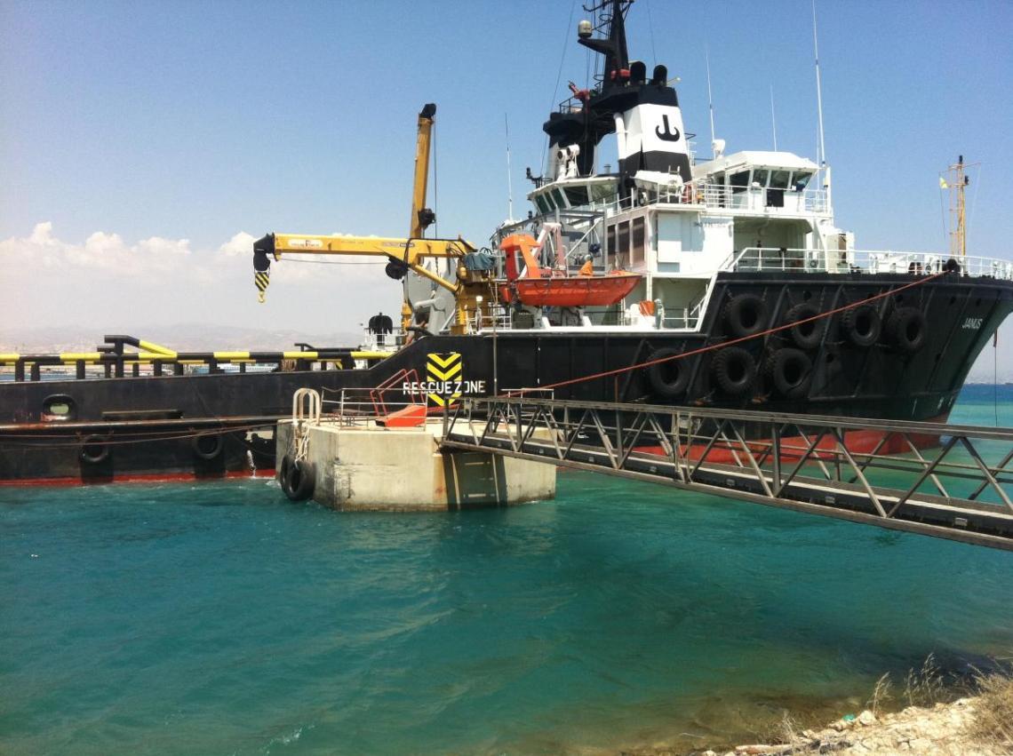 vessels repairs layby berth cyprus
