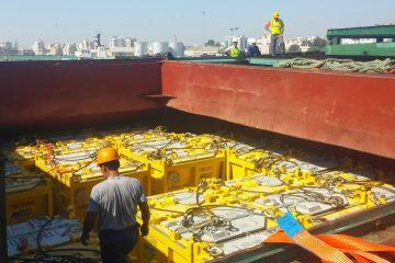 Offshore cargo baskets