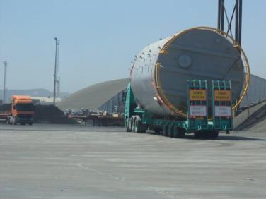 Vassilikos Cyprus desalination project logistics (9)