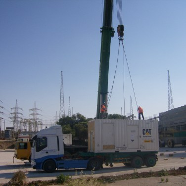 mobile powerplant logistics cyprus