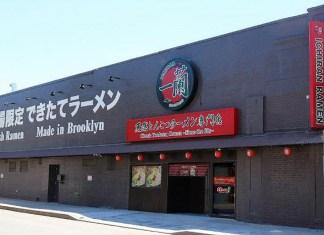 アメリカ・ニューヨーク とんこつラーメン専門店「一蘭」