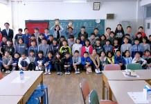 東京足立区立平野小学校「朝ハロしよ!プロジェクト」フルグラチョコクランチ&バナナ カルビー