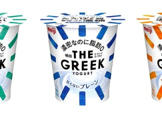 「明治 THE GREEK YOGURT」