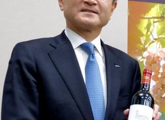 山崎雄嗣社長(サントリーワインインターナショナル)