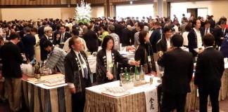 約900人が来場し賑わった(第二十三回 日本のお酒を味わう会~名古屋城夜桜風情~)