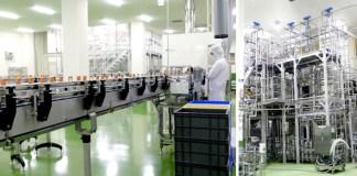 増設した新生産ライン(ブルドックソース館林工場)