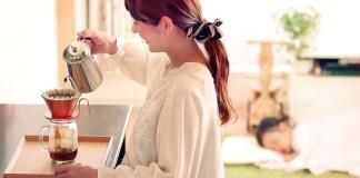 グランプリに輝いた「娘のお昼寝は珈琲タイム」(第3回「Life with Coffeeフォトコンテスト2018」)