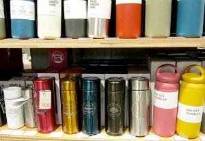 内部がテフロン加工で汚れにくいコーヒー用マイボトル(キーコーヒー)