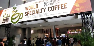 SCAJイベント会場(WORLD SPECIALTY COFFEE CONFERENCE AND EXHIBITION)