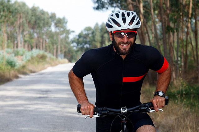 サイクリングおじさん