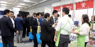 「西日本乾物・乾麺展示商談会」会場の様子(日本アクセス)