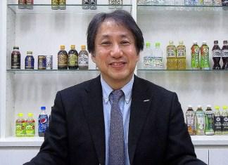 木村穣介常務(サントリー食品インターナショナル)