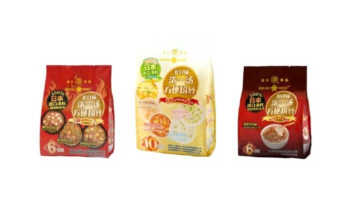 スープ春雨 ひかり味噌 龍大食品集団有限公司