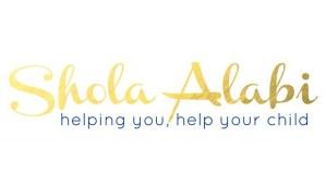 Shola Alabi helping you help your child logo