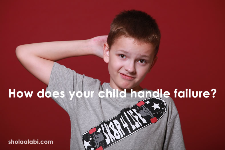 How does your child handle failure