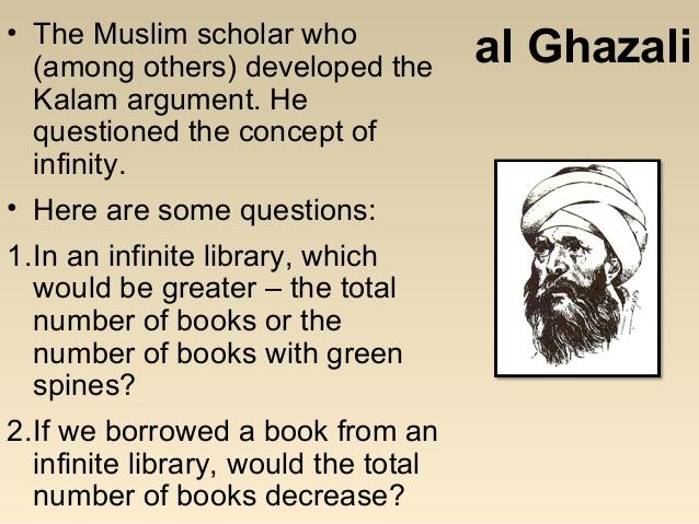 Mulsim scholar Al Ghazali
