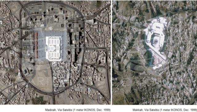 Original undoctored images from spaceimaging.com