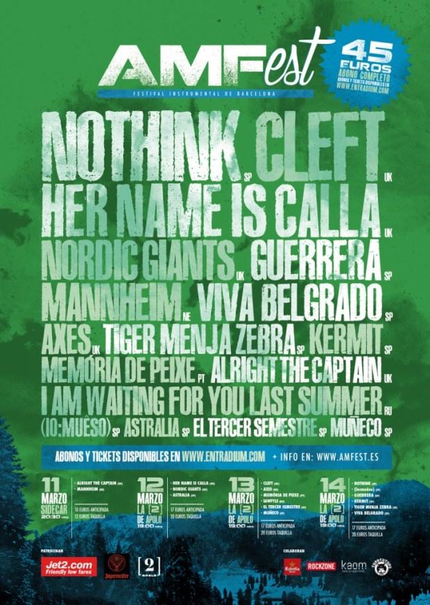 Cartel oficial del AMFest