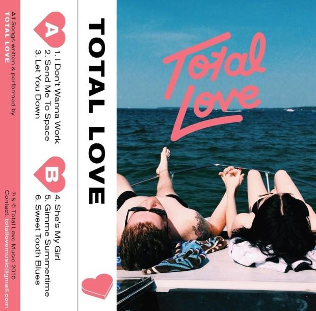 Portada de lo nuevo de Total Love