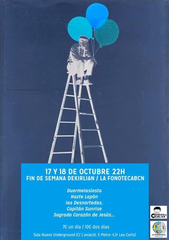 Discos de Kirlian y La Fonoteca Barcelona, de aniversario