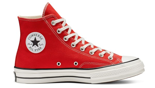 Red sneakers Converse Chuck Taylor All Star ´70 Enamel Red ...
