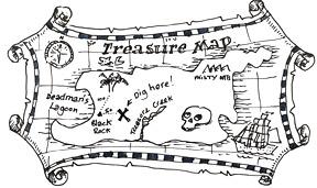 How to draw a Treasure Map   Shoo Rayner